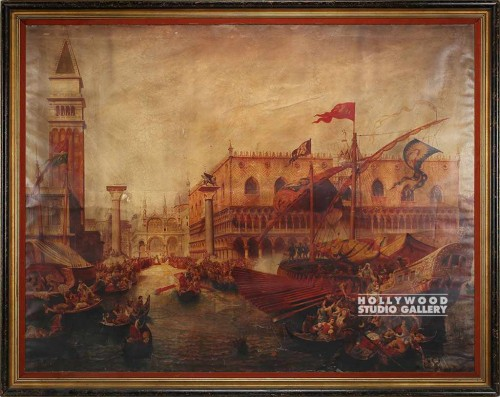 84x64 Venice/Large Oil Painting