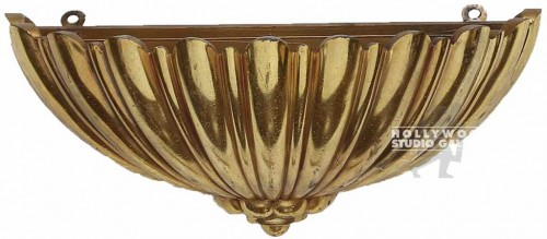 6x12x5 Gold Sconce