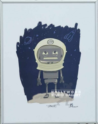 14x11 KENNEDY ASTRONAUT-SPACE SLVR