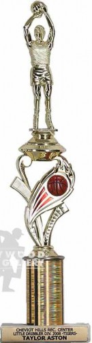 "15"" BASKETBALL TROPHY"