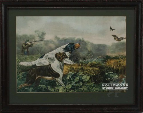 26x33 Framed Hunt Print