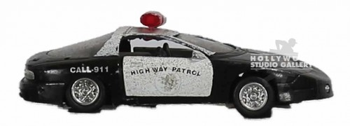 SMALL DESKTOP POLICE CAR MODEL