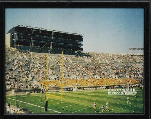 10X12 HBW FOOTBALL STADIUM/COLOR PHOTO