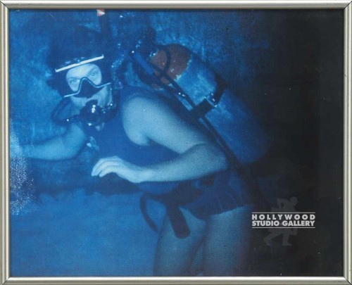 11X13 SCUBA DIVING GUY/COLOR PHOTO