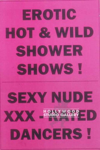"15X10 ""EROTIC HOT & WILD SHOWER"""