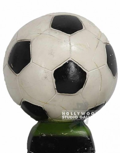 "9"" CERAMIC SOCCER PIGGY BANK"