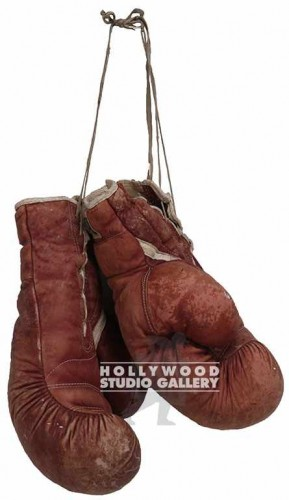 "14"" PAIR VINTAGE LEATHER GLOVES"