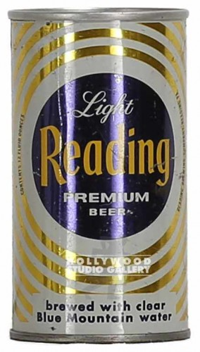 "5"" READING BEER CAN"