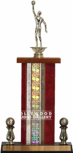 "17"" BASKETBALL TROPHY"