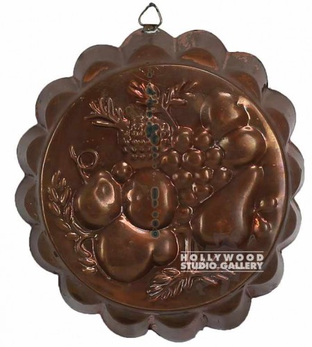 8x7 COPPER/FRUIT JELLO MOLD