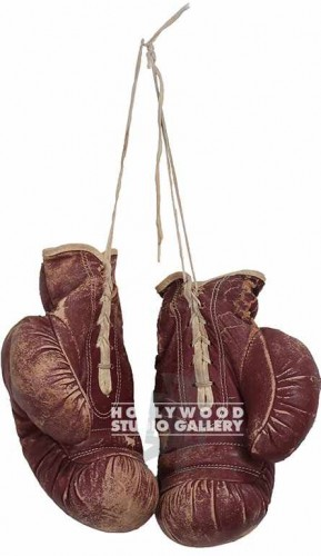 "10"" LEATHER BOXING GLOVES"