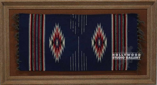 40x22 Indian Blanket/Framed