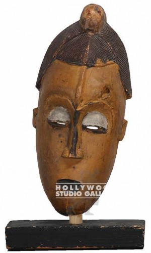 Primitive Mask On Stand