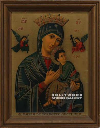 28x35 Madonna & Child/Framed