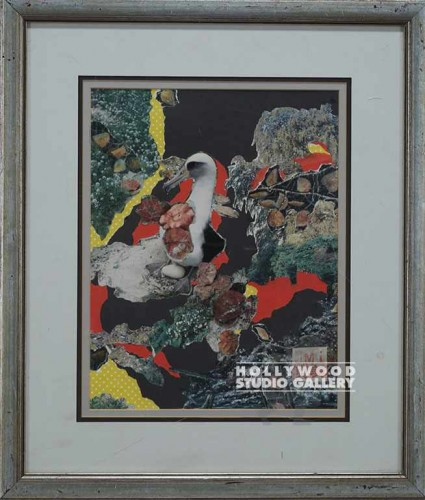 22x19 Seagull Collage/Orig.OMI