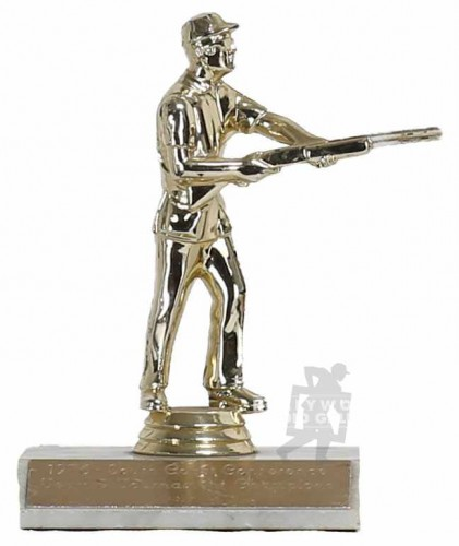 "6"" SHOOTING TROPHY 1976"
