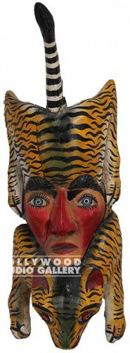 30x10 Mask/Face/Tiger