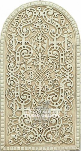 "14X7.5"" CELTIC RELIEF WALL PLAQUE"