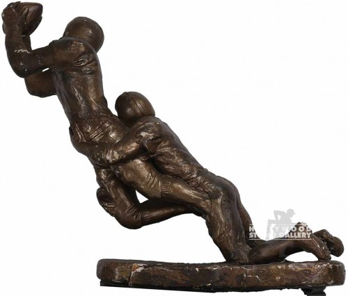 15x12x6 Faux Bronze/Football Sculpt