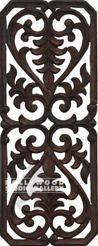 40X16 WALL HANGING WOOD CARVING