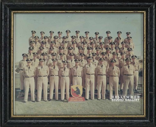 9x12 CAMP MILITARY GROUP PHOTO